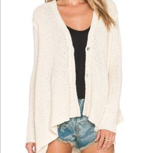 Free People • Oversized Button Cardigan Sweater